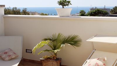 Photo for Santa Maria Di Leuca: HOUSE WITH SEA VIEW in a panoramic and central