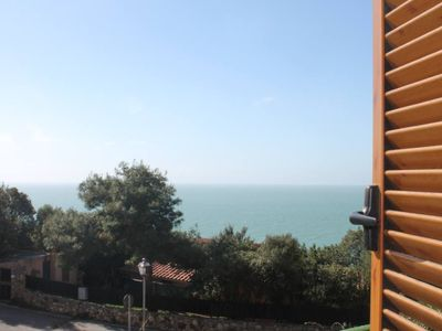 Photo for Talamone: sea view terrace in the park dell'Uccellina