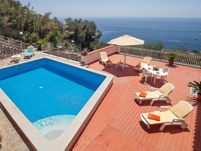 Photo for Villa with sea view, private pool, beaches nearby. Quiet and privacy guaranteed