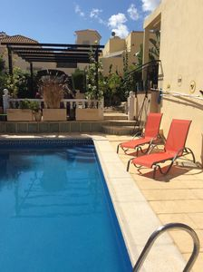 Photo for A superbly equipped villa with private pool, fantastic outdoor kitchen, WiFi
