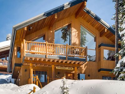 Photo for Big White Located 5 Bedroom Chalet with Vaulted Ceiling, Sauna and Real Fire