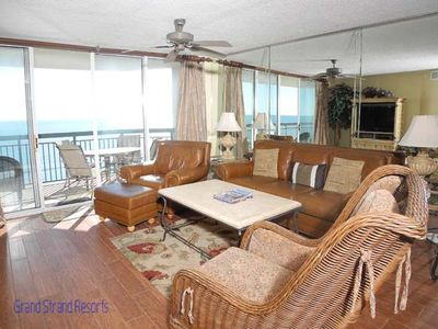 Photo for North Shore Villas 904! 3BR Oceanfront Condo! Book now for best rates!
