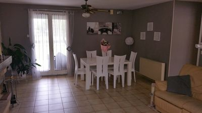 Photo for 1, 2 or 3 bedrooms in house near Groupama Stadium Lyon Decines Meyzieu