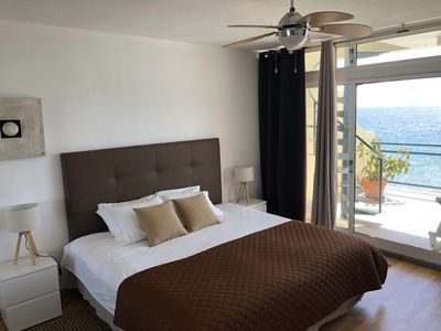 Photo for Penthouse apartment with the best ocean and mountain view