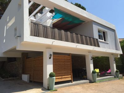 Photo for Apartment 85m2 in RDJ of villa + terrace 30m2 in south facing villa