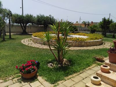 Photo for LAST MINUTE !!Seaside holiday home in annex building on 3000 sqm- Emanuela + Viviana