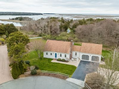 Photo for Eastham, 4BR, backs up to National seashore, water views of Salt Pond Bay