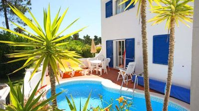 Photo for Villa with Heatable Pool and Tennis Membership in Vale do Lobo T117