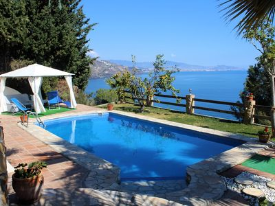 Photo for Villa With Pool and Stunning Sea Views
