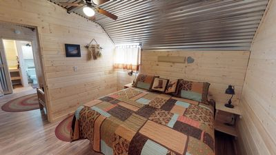 Photo for Stunning Cabin in The Western Barn, BBQ, Campfire, Kitchenette