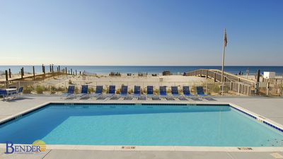 Photo for Gulf Tower 5C ~ Swing on Private Balcony ~ Bender Vacation Rentals