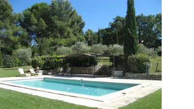 Photo for beautiful typical Provencal farmhouse in the heart of Aix