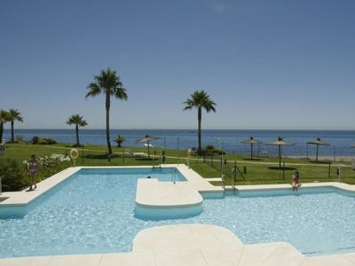 Photo for 2 bedroom Apartment, sleeps 4 in San Luis de Sabinillas with Pool, Air Con and WiFi