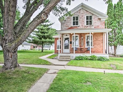 Photo for Historic Wabasha Home w/ Patio in Downtown!