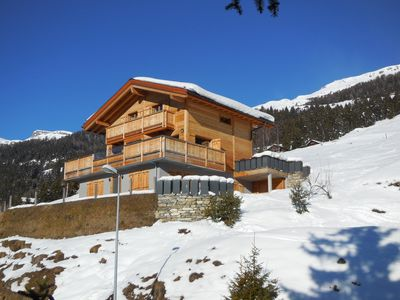 Photo for Chalet new, extraordinary views of the Alps