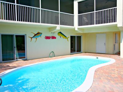 Photo for Single family pool home, boat slip, trailer storage, private spacious pool