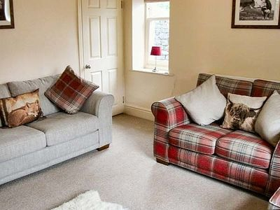 Cosy lounge with comfy sofas