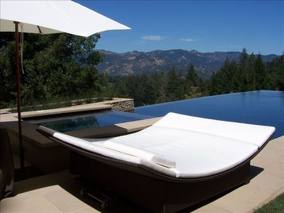 Photo for Luxury Vineyard Guest House with Amazing Views, Pool, Tennis!