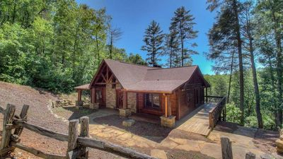 Photo for Rock N' River- Riverside retreat | Year Round Trout Stream | Master on Main