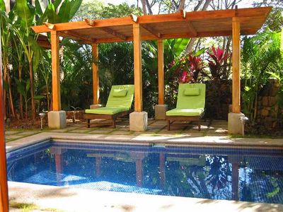 Photo for Luxurious 2BR 2 story home with pool, short walk to the beach -COL2