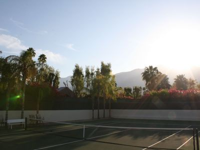 Photo for Tennis House in Palm Springs!
