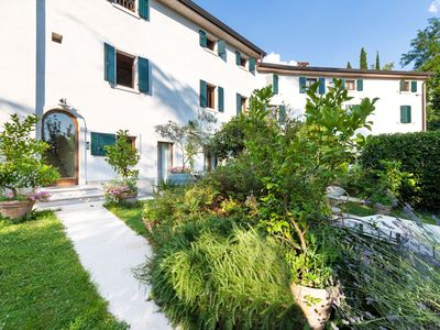 Photo for An attractive residence on the Verona side of Lake Garda.