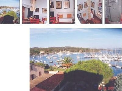 Photo for PORQUEROLLES - Furnished apartment 50 m², exceptional view