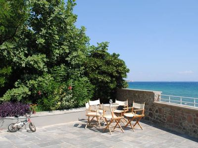 Photo for Beautifully Renovated House with Stunning Terrace and Sea Views