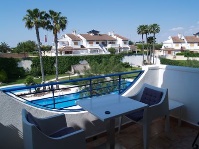 Photo for Excellent one bedroom  Top floor apartment in Mil Palmeras