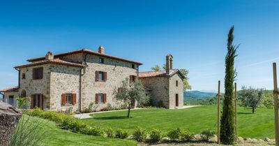 Photo for Stunning, newly restored, 16th century hilltop property with adjoining church