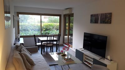 Photo for Old Antibes near Marina, 1 Bdr apart. 50m2, 1st floor with A/C, WiFi, TV & Lift