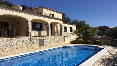 Photo for NEW-Magnificent house in Mas Ambrós- Calonge with sea and mountain views.