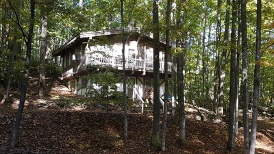 Photo for Nothern Michigan hillside chalet