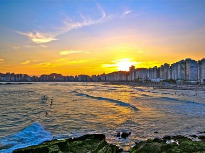 Photo for EXCELLENT SUITABLE FOR 6 PEOPLE IN THE BEST LOCATION OF GUARUJÁ (PITANGUEIRAS)