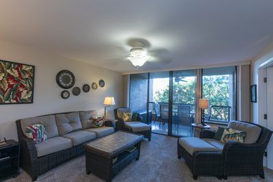 Very comfortable living space for your vacation