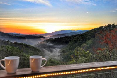 Incredible sunrise you wouldn't want to miss!