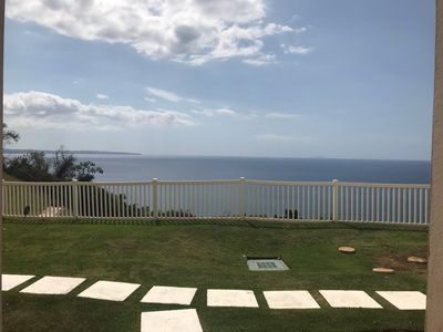 Magnificent Ocean view from balcony. Can't beat it!