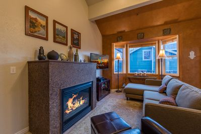 Perfect for a night in, or a place to relax after strolling through Park City.