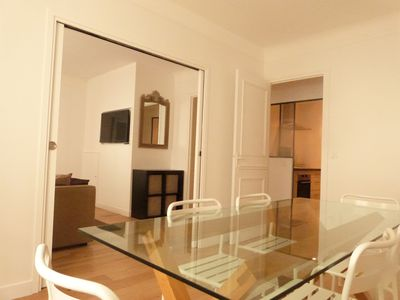 Photo for 3 bedroom apartment in the heart of Versailles 1 min Versailles Rive Droite train station