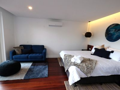 Photo for Luxury, spacious studio accomodation in the heart of Pemberton