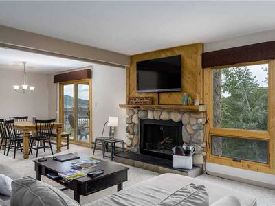 Photo for Amazing views from this condo with shared hot tub and skier shuttle