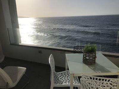Photo for Apartment located opposite the sea