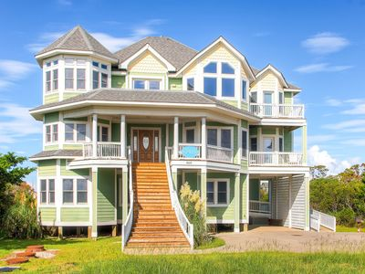 Photo for Extraordinary Semi-Oceanfront Home w/ Pool, Hot Tub, Game Rm, Handicap Friendly