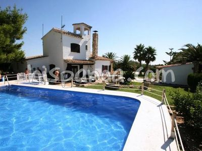 Photo for Villa Ampolla Catalonia with secure pool - villa with large plot