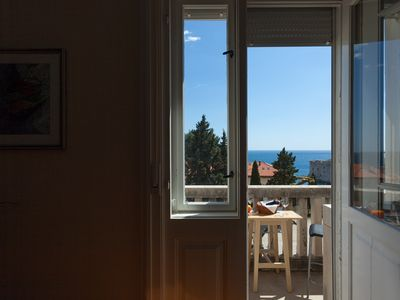 Photo for Spectacular view on Old Town, Sea and Lokrum Island - Apartment MA-LA