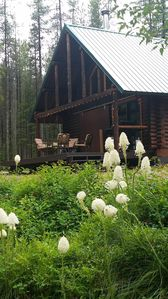 True Montana Log Cabin on 4 acres- price reduction for 4th of July 2020!