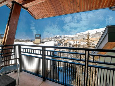 Photo for SKI-IN Rental | Outdoor Hot Tub, 2 Pools, Sauna, Gym and More!