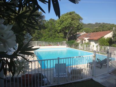 Photo for mini villa 2 bedrooms 4pers with pool