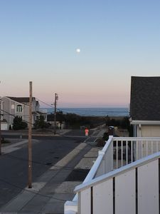 Photo for Ocean & Bay views w/ 2 decks, just 4 houses from beach, Oct-Apr most nights $200