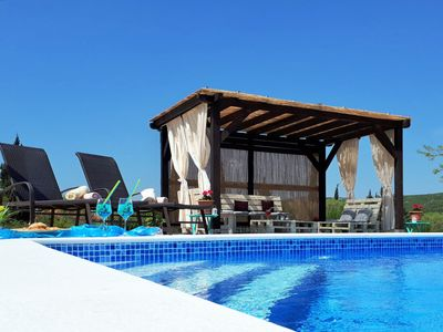 Photo for This 4-bedroom villa for up to 8 guests is located in Pirovac and has a private swimming pool, air-c